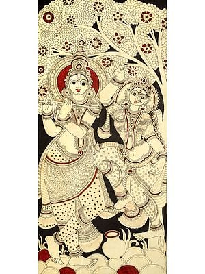 Radha Dances With Abandon To The Tune Of Lord Krishna's Flute