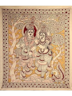 Venugopala with his Beloved Radha