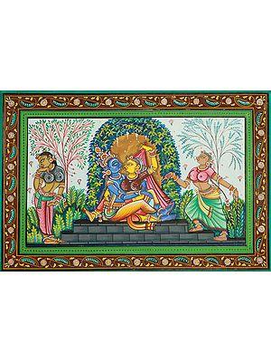 Krishna in the Grove of Love