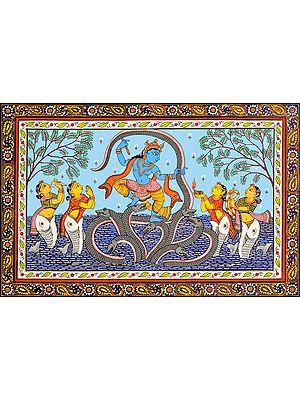 Kaliya-Mardana by Lord Krishna
