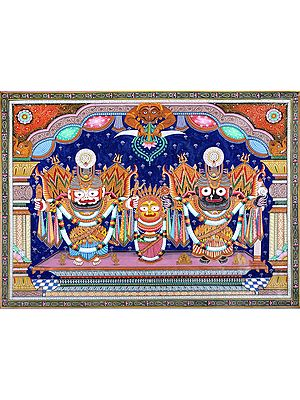 Sri Jagannatha in Shringara