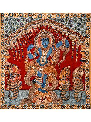 Shri Krishna Vanquishes Kaliya