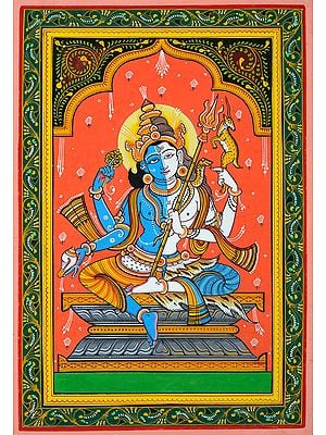 Hari-Hara (A Composite Image of Vishnu and Shiva)