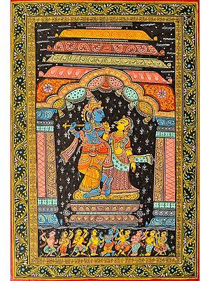 Shri Krishna and Radha