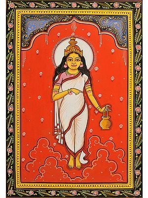 BRAHMACHARINI - Navadurga (The Nine Forms of Goddess Durga)