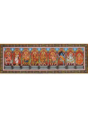 Navadurga (The Nine Forms of Goddess Durga)