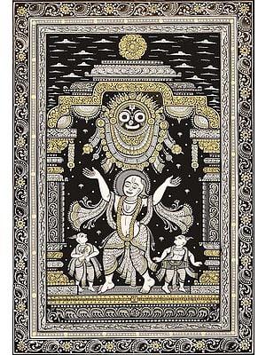Adoration of Jagannatha by Chaitanya Mahaprabhu