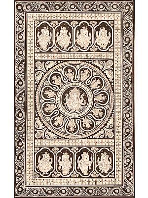 Ashta Vinayaka with  Mandala