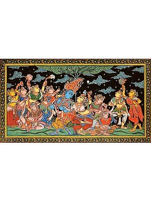 An Evening of Music with Radha-Krishna and Gopis