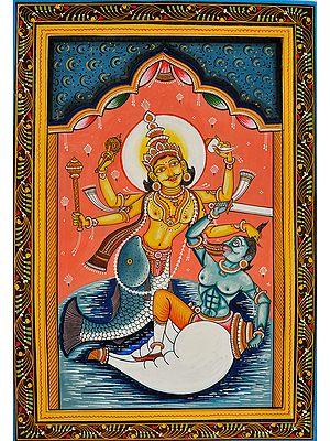 Matsya (Fish)  Incarnation of Lord Vishnu