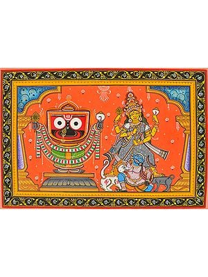 Jagannatha Ji and Goddess Durga