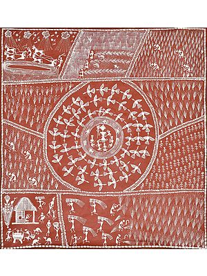 Life in Warli Village with the Prayer  of Lord Shiva