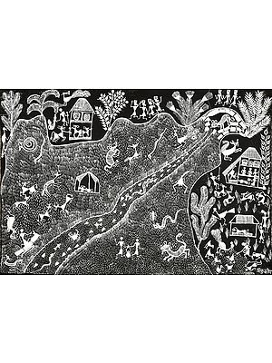 Aspects of life in Warli Village