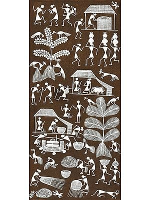 Daily Life of Warli People
