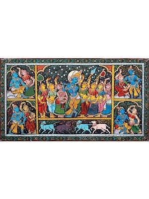 Rasa Lila of Krishna