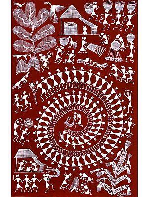 Tarpa Dance on Deepawali