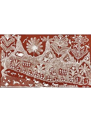 Warli Tribal Painting