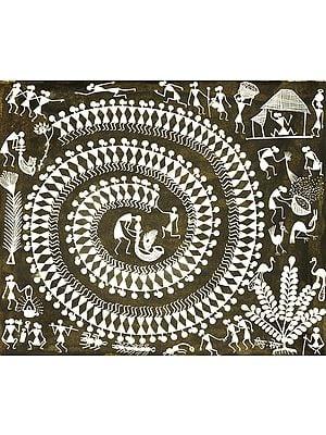 The Circle Dance of Warli Tribe