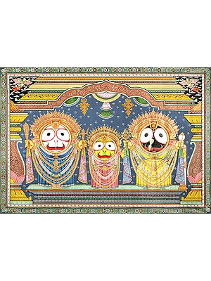 Sri Jagannath in Swarn Shringara