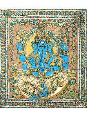 Throne Ganesha