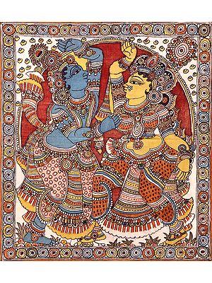 Dancing Radha Krishna