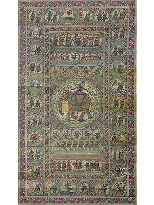 Life of Lord Krishna (collapsible)