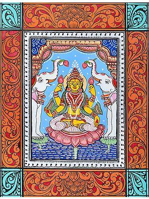 Padmasana Gajalakshmi