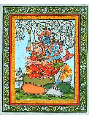 Radha Krishna in Nidhivan, The Garden of Love