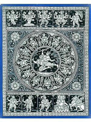 Krishna Lila with Dashavatara