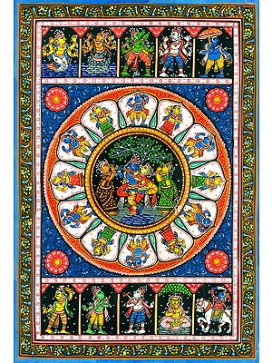 Ten Incarnations of Lord Vishnu (Dashavatar)