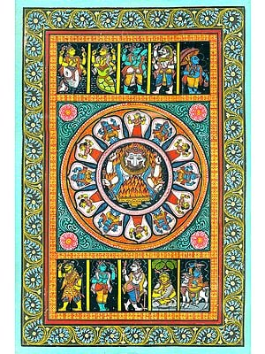 Dashavatar of Lord Narayana (Vishnu)