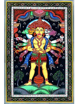 Panchmukhi Lord Hanuman