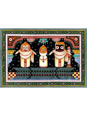 Balarama Subhadra and Krishna (Jagannath Trinity)