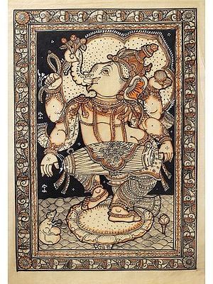 Ganesha Playing Mridang