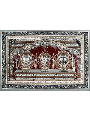 Jagannath in Sona Vesha (Shringar)