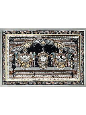 Jagannath in Nagarjuna Vesha (Shringar Done Every 25 Years)