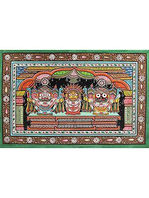 Shri Jagannatha in Nagarjuna Vesha (Shringar Done Once Every 25 Years)