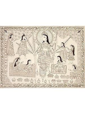 Satya-Narayana-Puja and Katha