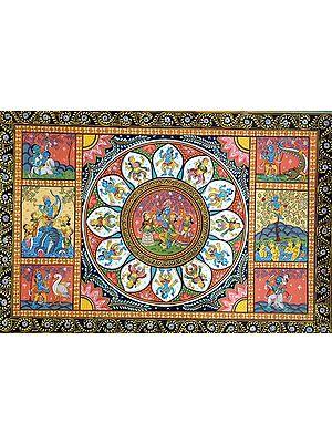 The Story of Krishna's Life