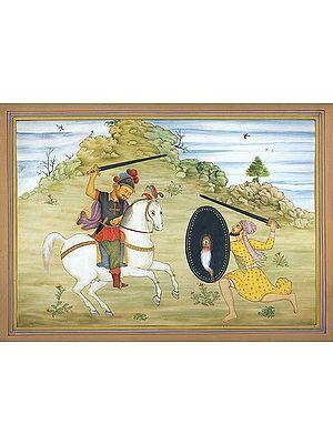 A Persian Battle