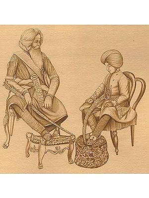 Maharaja Ranjit Singh's Reprimand