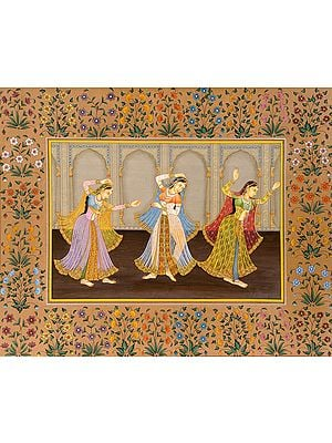 Ladies Engaged in Dance