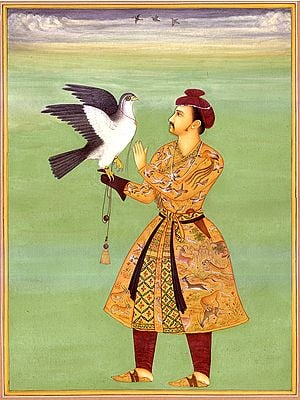 Jehangir with His Falcon