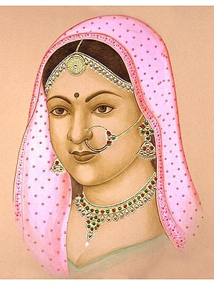 Portrait of an Indian Bride