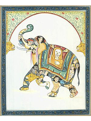Pashu Kunjar - Composite Elephant