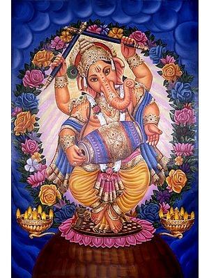 Ganesha Spreading Love
