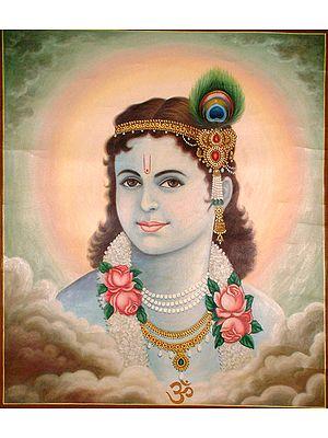 Adolescent Krishna