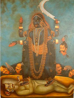 Goddess Kali The Mother Goddess