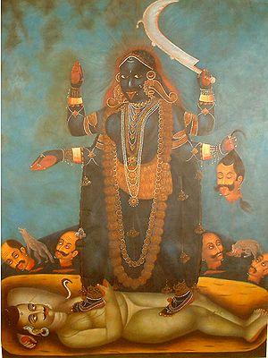 Goddess Kali The Mother Goddess
