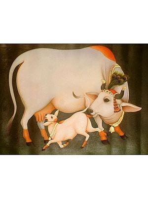Krishna's Cow
